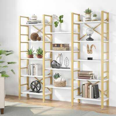 Oyama 70'' H x 68'' W Etagere Bookcase - Wayfair