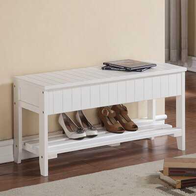 Toucha Wood Storage Bench - Wayfair
