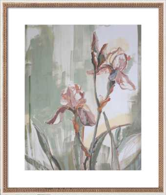 Irises for Kendall by Katherine Corden for Artfully Walls - Artfully Walls