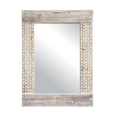 Vasag Wood Framed Accent Mirror - Wayfair