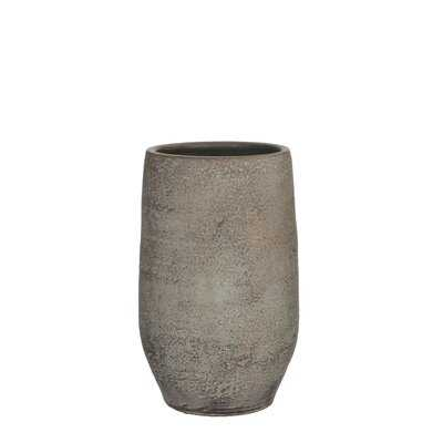 Xavier Brown Indoor / Outdoor Terracotta Table Vase - Wayfair