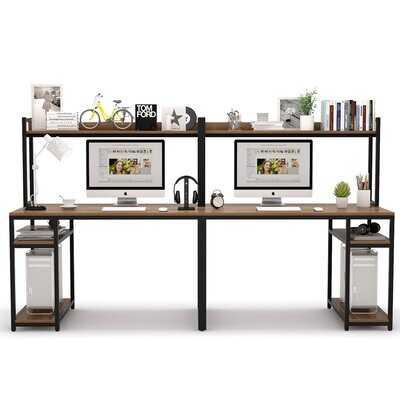 Fleckenstein Desk with Hutch - Wayfair