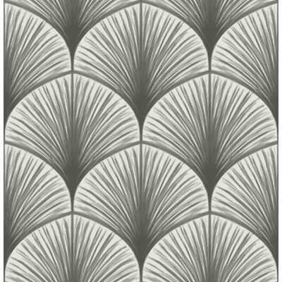"Nika Frond 33' x 20.5"" Wallpaper Roll - AllModern"
