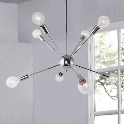 8 - Light Sputnik Sphere Chandelier - Wayfair