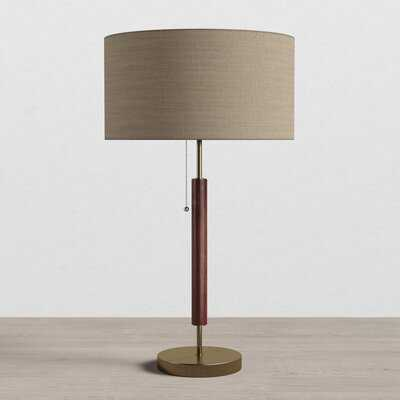 "Pamela 26""  Walnut Standard Table Lamp - AllModern"