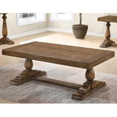 Wood Coffee Table - Wayfair