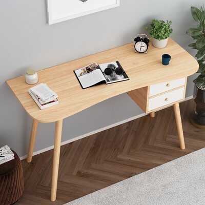 Solid Wood Leg Computer Desk - Wayfair