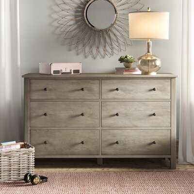 Wilkins 6 Drawer Double Dresser - Birch Lane