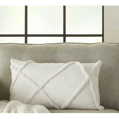 Remi Cotton Abstract Lumbar Pillow - Wayfair