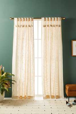 Tasseled Sadie Curtains, Set of 2 - Anthropologie