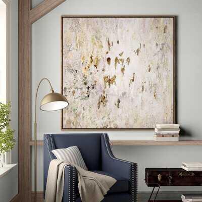 'Raindrops' Picture Frame Print on Canvas - Birch Lane