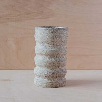 Utility Objects Small Vase, Natural Sand - West Elm