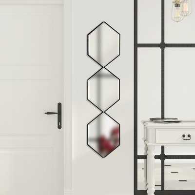 Postell Geometric Beveled Accent Wall Mirror - Wayfair