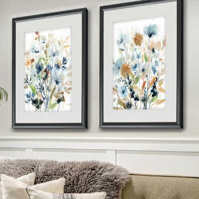Holland Spring Mix - 2 Piece Picture Frame Set Print Set on Paper - Birch Lane