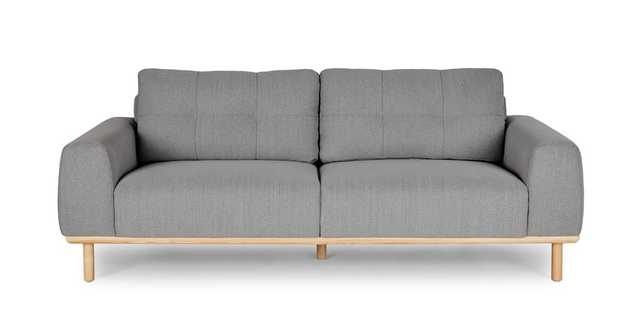 Mea Stratus Gray Sofa - Article