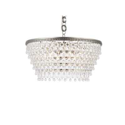 Rutha 6 - Light Unique Tiered Chandelier with Crystal Accents - Wayfair