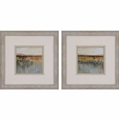 Paragon 'Antique Contemporary' - 2 Piece Picture Frame Painting Print Set on Paper - Perigold
