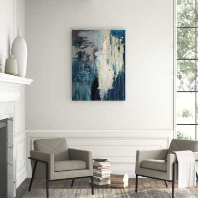 """Chelsea Art Studio 'From the Night' by Barclay Butera - Wrapped Canvas Painting Print Format: Outdoor, Size: 48"""" H x 36"""" W x 2"""" D - Perigold"""
