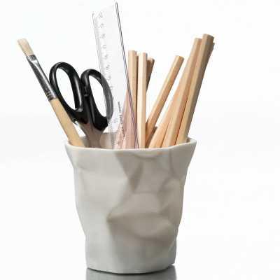 Essey PenPen Waste Basket Color: White - Perigold