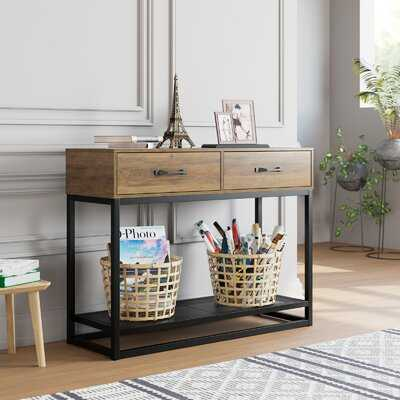 "Yeal 39.4"" Console Table - Wayfair"