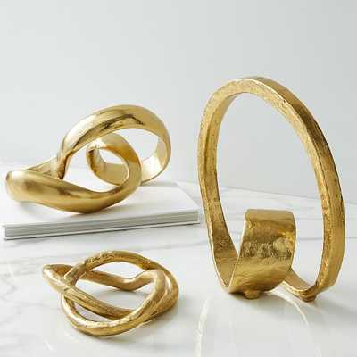 Metal Loop Object, Set of 3 - West Elm