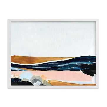 """Sandpit, Full Bleed 24x18"""", White Wood Frame - West Elm"""