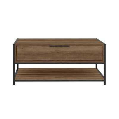 Matz Coffee Table with Storage - Wayfair