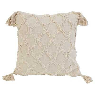 Sipan Square Cotton Pillow Cover and Insert - Wayfair
