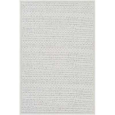 Absolon Southwestern Cream/Gray Indoor / Outdoor Area Rug - Wayfair