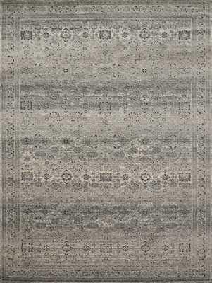 "Millennium MV-02 Grey / Charcoal 9'-6"" x 13' - Loma Threads"