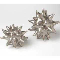 Urchin Matte Silver DwellStudio by Global Views - High Fashion Home