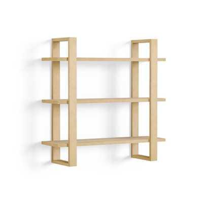 The Index Wall Shelf in Oak - Burrow