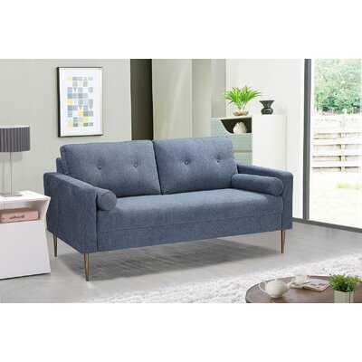Smartt Living Room Loveseat-Light Blue - Wayfair