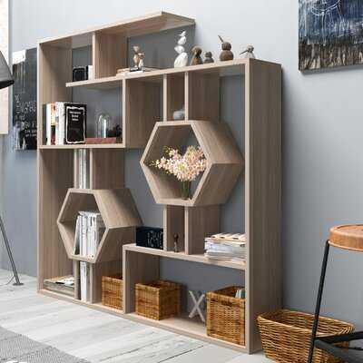 Swenson Geometric Bookcase - Wayfair
