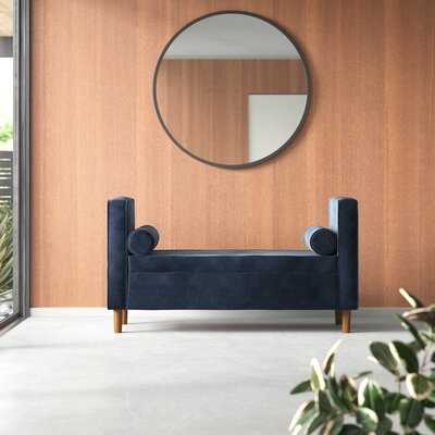 Bernadine Upholstered Flip Top Storage Bench - AllModern