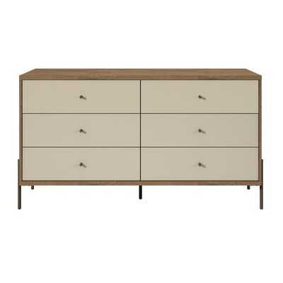 Alviso 6 Drawer Double Dresser - AllModern