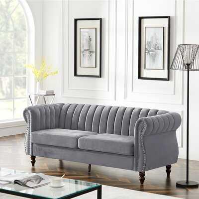 Jermaine 76.3'' Wide Rolled Arm Sofa - Wayfair