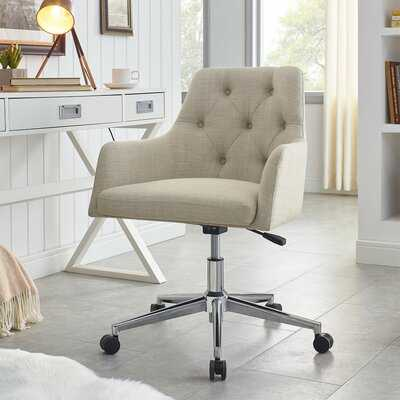 Bilger Linen Task Chair - Wayfair