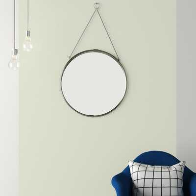 Cassius Decorative Round Hanging Modern & Contemporary Wall Mirror - Wayfair