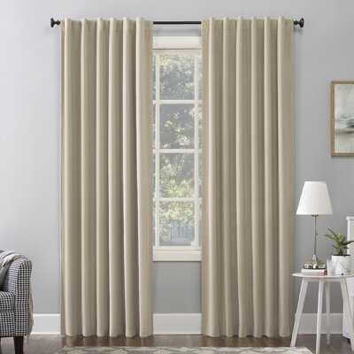 Amherst Velvet Solid Max Blackout Thermal Single Curtain Panel - AllModern