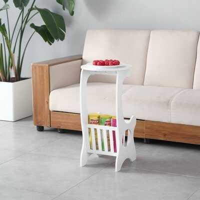 Ebbo End Table with Storage - Wayfair