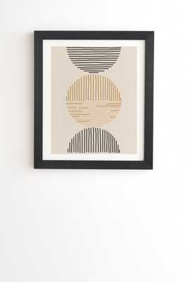 "One Last Swim by Urban Wild Studio - Framed Wall Art Basic Black 30"" x 30"" - Wander Print Co."