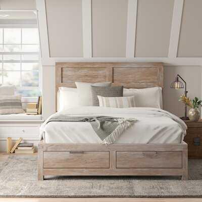 Fritsch Low Profile Storage Platform Bed - Wayfair