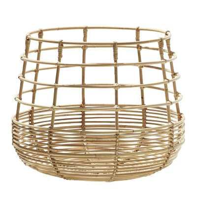 Cane Line Sweep Rattan Basket - Perigold