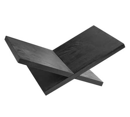 X Book Stand, Black - Pottery Barn