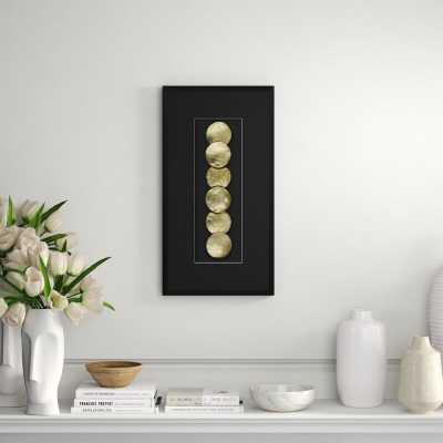 Providence Art 'Golden Shells 2' - Shadowbox Graphic Art Print on Wood - Perigold