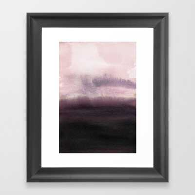 Twilight Landscape Framed Art Print by Georgiana Paraschiv - Scoop Black - X-Small-10x12 - Society6