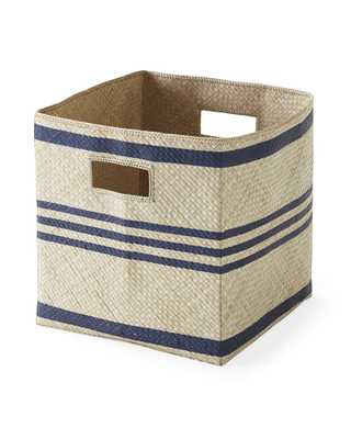 Pandan Woven Square Bin - Serena and Lily