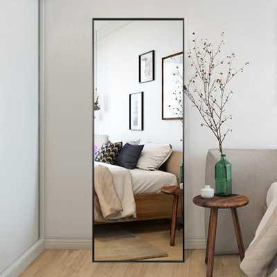 Neu-Type Elegant/Modern Large Full-length Floor Mirror Standing Leaning or Hanging In Living Room - Home Depot