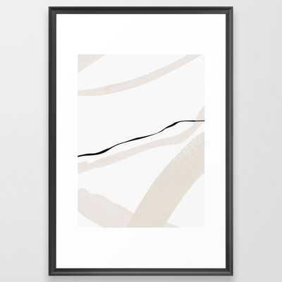Minimal Space 01 Framed Art Print by Georgiana Paraschiv - Scoop Black - LARGE (Gallery)-26x38 - Society6